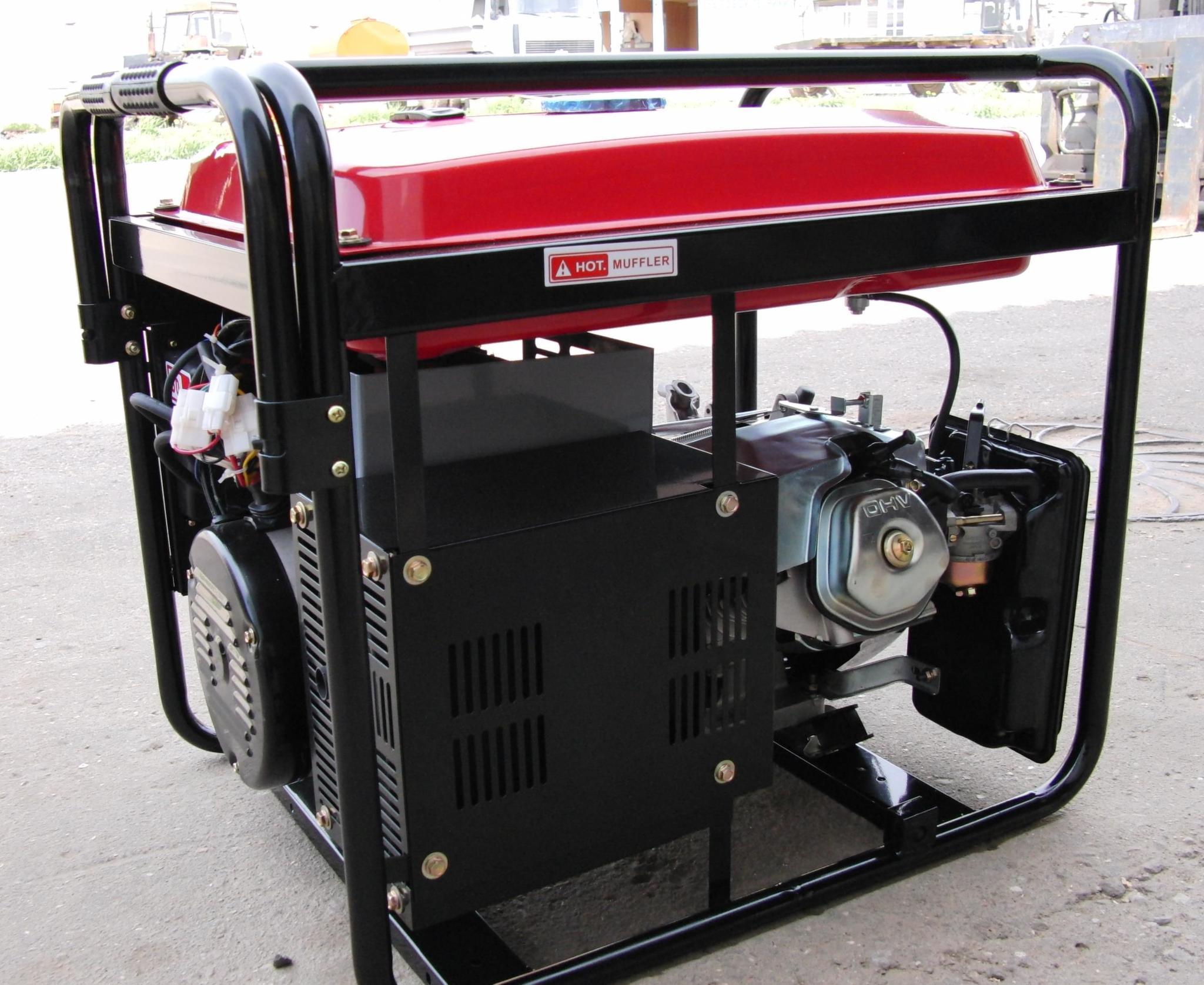 Бензиновый электрогенератор отзывы