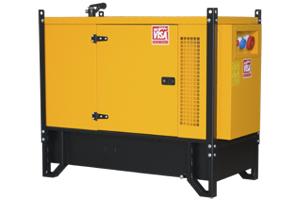Дизель генератор на 7 кВт ONIS VISA P9 в кожухе
