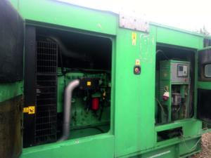 Дизельная электростанция Cummins C550D5 бу 400 кВт в кожухе