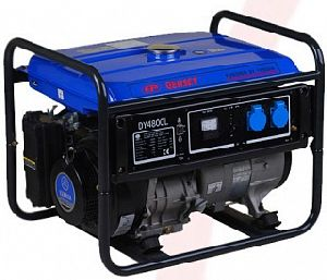 [4 кВт] Генератор бензиновый EP Genset DY4800L (с двигателем Yamaha / Ямаха)