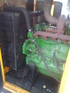 Дизельная электростанция AKSA AJD-200 в кожухе с пробегом