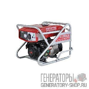 [5 кВт] Elemax SV6500-R бензиновый японский генератор