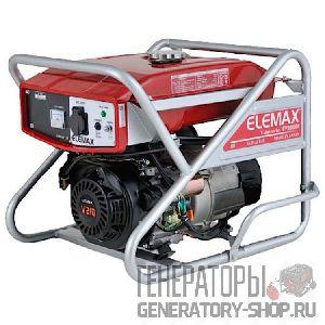 [5 кВт] Elemax SV6500S-R бензиновый генератор с электростартером