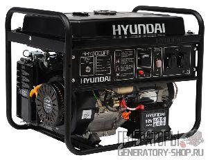 Hyundai HHY 5000FE бензиновый генератор с электрозапуском