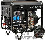 [6 кВт] Hyundai DHY 8000LE дизельный генератор на колесах