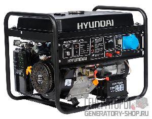[5 кВт] Hyundai HHY 7000FE ATS бензиновый генератор с автозапуском (АВР)