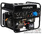 [6 кВт] Hyundai HHY 9000FE бензиновый генератор с электростартером
