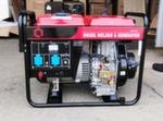 [4 кВт] Дизельный сварочный генератор АМПЕРОС LDW180C