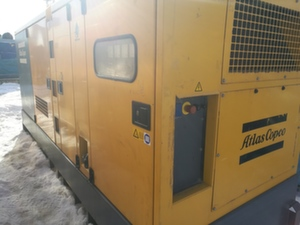Дизельная электростанция с наработкой 263 кВт Atlas Copco QAS325