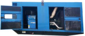 Дизель-генераторная установка SDMO V-550К (бу) в шумозащитном кожухе