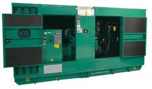 Дизельный генератор  вкожухе Cummins C275D5 Enclosed 200 кВт