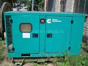 Дизельная электростанция 24 кВт Cummins C33D5 с наработкой