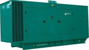 Дизель-генератор в кожухе Cummins C350D5 в кожухе - 256 кВт