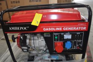 Бензиновый генератор АМПЕРОС LT7500CLE-3