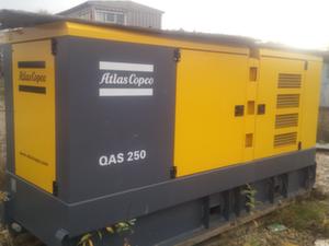 Дизельная электростанция б/у Atlas Copco QAS 250, год выпуска 2016