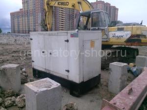 Дизельная электростанция 50 кВт CTM с наработкой б/у