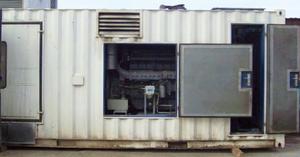 Дизельная электростанция бу 800 кВА/700 кВт в контейнере