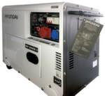 HYUNDAI DHY 8500SE-3  дизельный генератор в закрытом шумопоглощающем кожухе
