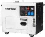 [7,2 кВт] HYUNDAI  DHY 8500SE  дизельный генератор с автозапуском