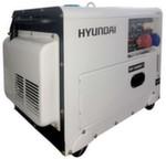 [7,2 кВт] HYUNDAI дизельный генератор  DHY 8500SE-T с автозапуском