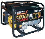 Портативный бензогенератор 2,5 кВт Huter DY3000LX