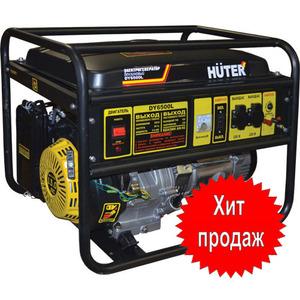 Бензиновый генератор Huter DY6500LX - 5 кВт