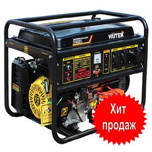 Бензиновый генератор 6,5 кВт Huter DY8000LX