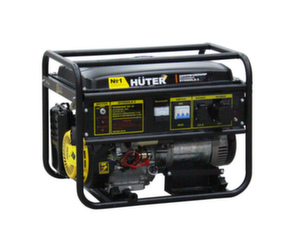 Бензиновый генератор Huter DY9500LX-3 7,5 кВт