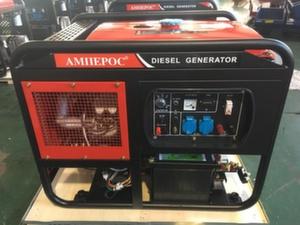 Дизельный генератор 10 кВт АМПЕРОС LDG15000E