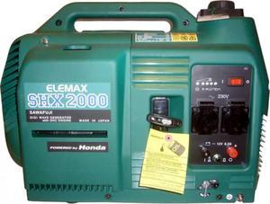 [2 кВт] Инверторный генератор Elemax SHX 2000