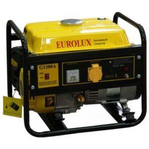 [1 кВт] Бензиновый генератор Eurolux G1200A