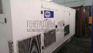 Дизельный генератор 400 кВт в кожухе FG Wilson P500 с пробегом