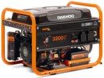 Двухтопливный генератор Daewoo GDA 3500 DFE 2,8 кВт