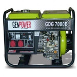 Дизельный генератор GenPower GDG 7000 E - 6 кВт
