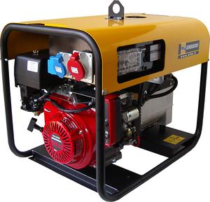 Бензиновый генератор 4,3 кВт WFM LUX L54-MTHE