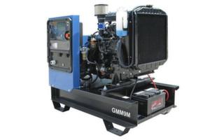 Дизельная электростанция GMM9М 10 кВт однофазная