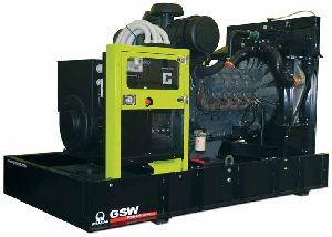 Дизельный генератор Pramac GSW560V - 400 кВт