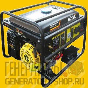 Газовый генератор 5 кВт HUTER 6500 LXG (DY6500LXG) + АИ-92