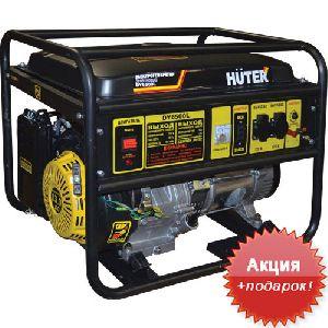 Электрогенератор бензин/газ Huter DY6500LX - 5 кВт