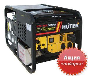 Бензиновый генератор 8 кВт Huter DY12500LX