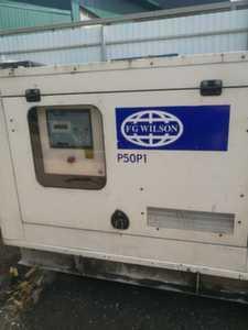 Дизельная электростанция б/у 40 кВт Wilson P50P1 (с наработкой)