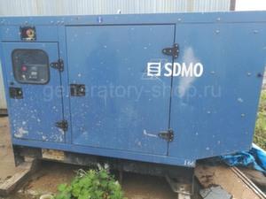 Дизельный генератор Б/У 50 кВт SDMO J66