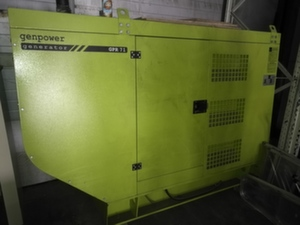 Дизельный генератор б/у с наработкой GenPower 50 кВт