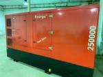 Дизельный генератор БУ Energo ED 250000 в кожухе