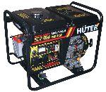 Дизельный генератор Huter LDG3600CLE - 3 кВт