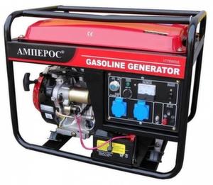 Бензиновый генератор АМПЕРОС LT6500CL