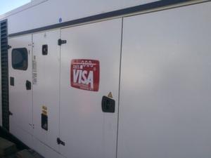 Дизельная электростанция б/у 500 кВт Onis Visa P650GX