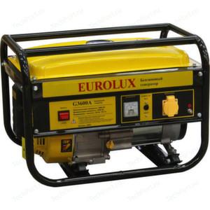 [2,5 кВт] Бензиновый генератор Eurolux G3600A