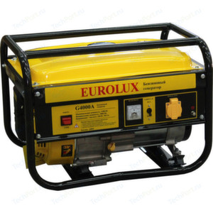 [3 кВт] Бензиновый генератор Eurolux G4000A
