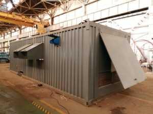 Дизельный генератор в контейнере 1000 кВт (1 МВт)